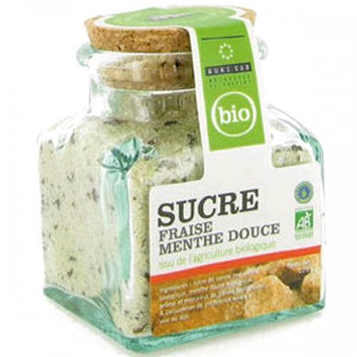 Mint flavored organic sugar