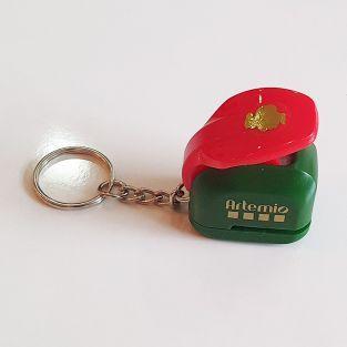 Christmas punch 1 cm - Santa Claus
