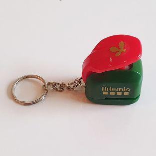 Christmas hole punch 1 cm - Holly