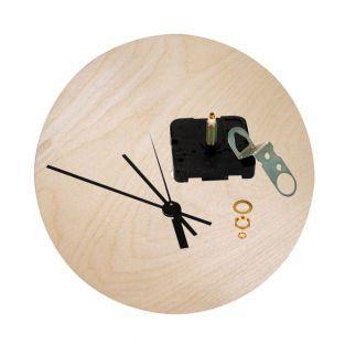Horloge bois Ø 25 cm à monter soi-même
