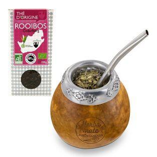 Calebasse & bombilla + thé rooibos de...