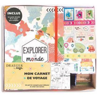 """Kit Bullet Cuaderno de viaje """"Explora..."""