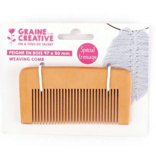 Comb for braiding - 97 x 50 mm