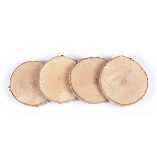Tranches de bois - 7 à 10 cm