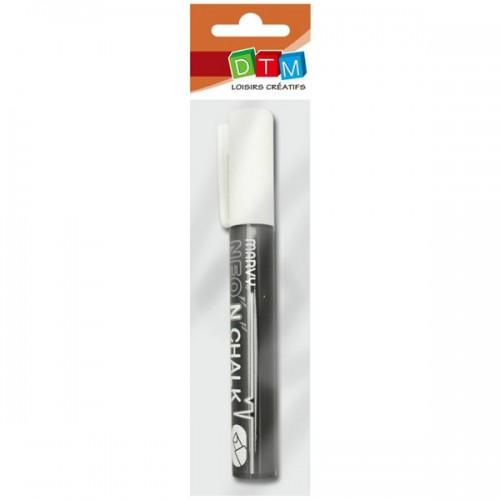 Chalk marker 6 mm - White