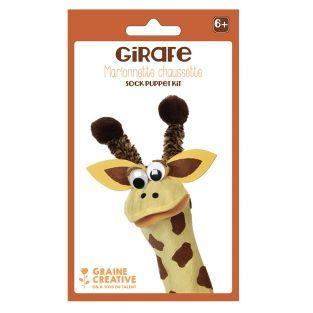 Kit burattini - giraffa
