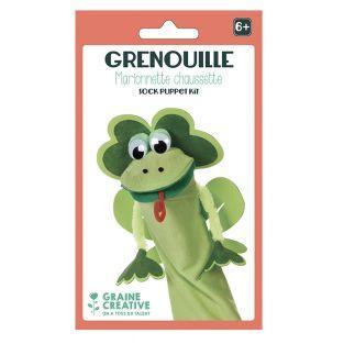 Puppet kit - frog