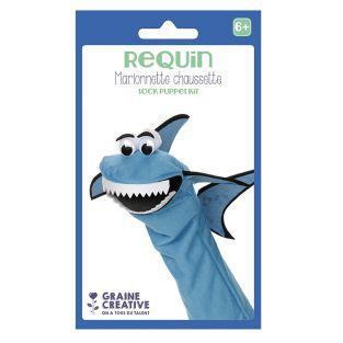 Kit de marionetas - tiburón