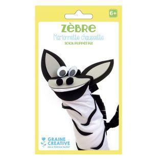 Puppet kit - zebra