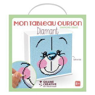 Kit Diamond Painting - tableau Ourson