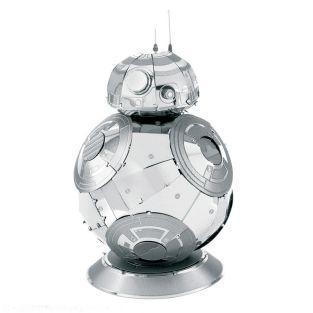 Modello 3D in metallo di Star Wars - BB8