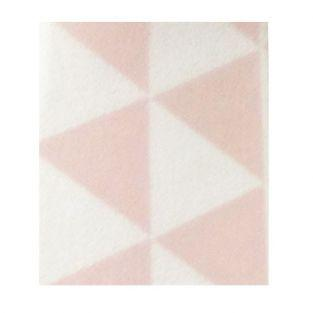 Masking tape with pink & white triangles