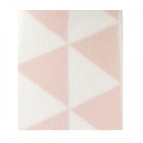 Cinta adhesiva con triángulos rosa y negros