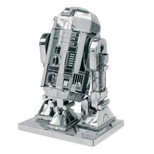 Modelo 3D en Metal Star Wars  - R2-D2