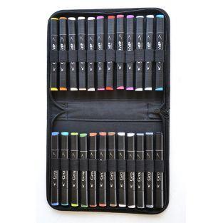 Kit 24 Graph'It markers - Manga colors