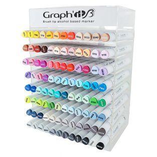 Caja de 96 marcadores Graph'It Brush...