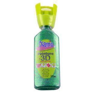 Flasche 37 ml Diam's 3D - glitzergrün