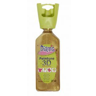 37 ml bottle Diam's 3D - antique gold...