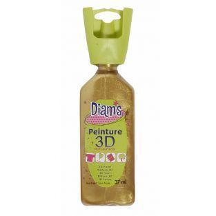 Flasche 37 ml Diam's 3D - antike...