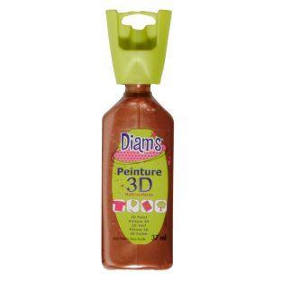 Botella de 37 ml Diam's 3D - cobre...