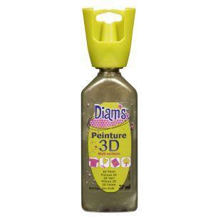 Flasche 37 ml Diam's 3D - Perlbronze