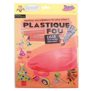 Set 7 hojas - Plastique fou Diam's -...