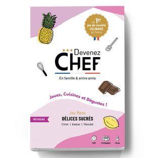 Devenez Chef - juego menú Dulces...