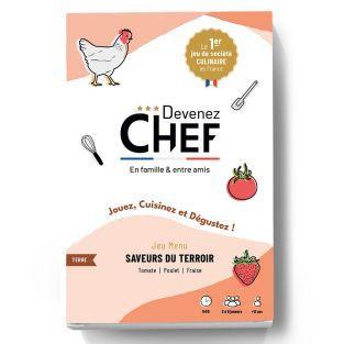 Devenez Chef - juego menu Sabores...
