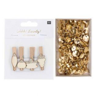8 silver leaf wood clip pliers + 150...