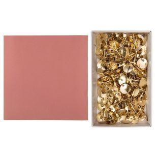 Papel Boudoir rosa 30,5 x 30,5 cm +...