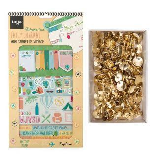 Kit décoration Bullet Journal Voyage...