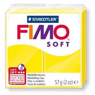FIMO plasticine 57 g - Yellow