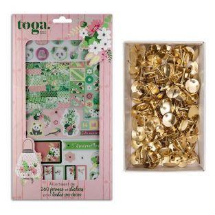 Kyoto bullet journal box + 150 golden...