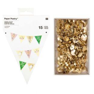 15 Easter pennants garland + 150...