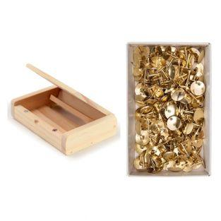 Wood business card holder 10.5 x 7 cm...