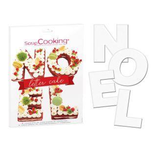 Letter Cake Noël