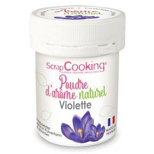Natural flavour powder 15 g - Violet