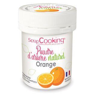 Natural flavour powder 15 g - Orange