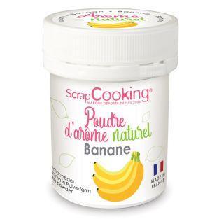 Natural flavour powder 15 g - Banana