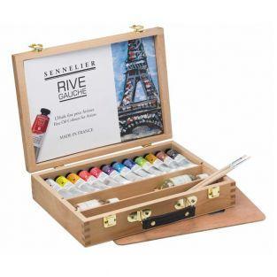Painting set - Left Bank - 12 tubes...