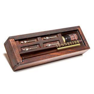 Caja de tinta china - Caligrafía -...