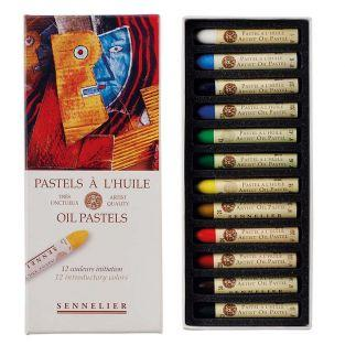 Boite 12 pastels Huile - Initiation