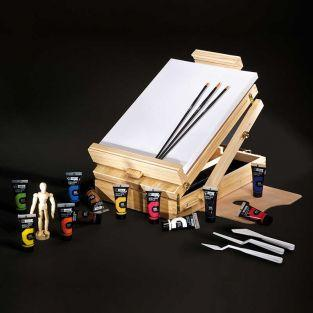 Campus easel box - 12 tubes x 21 ml -...