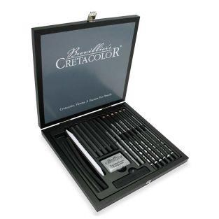 Cretacolor Black Box Set - 20 pezzi