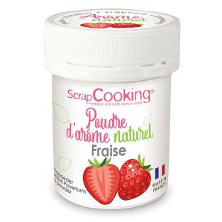 Natural flavour powder 15 g - Strawberry