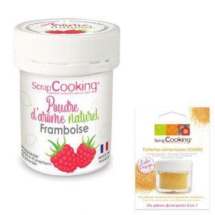 Natural flavour powder 15 g Raspberry...