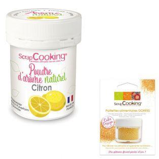 Natural flavour powder 15 g Lemon +...