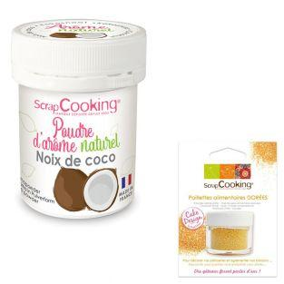 Natural flavour powder 15 g Coconut +...