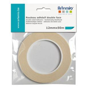 Ruban adhésif double face - largeur 12 mm