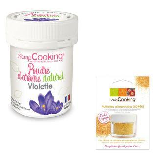 Natural flavour powder 15 g Violet +...